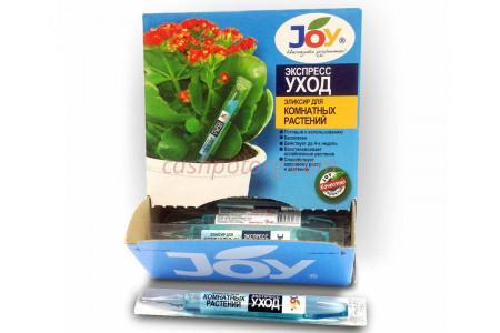 Удобрение жидкое JOY эликсир для комнатных амп.10мл