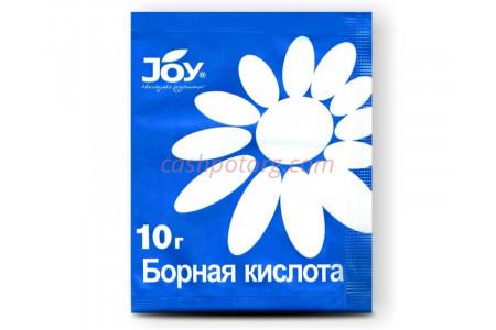 Удобрение сухое JOY борная кислота 10г