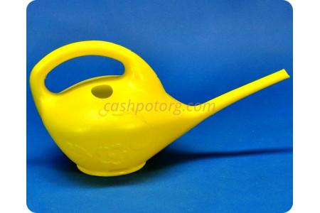 Лейка «Малютка» пластиковая желтая 1л