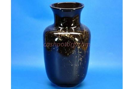 Ваза напольная керамическая для сухоцветов ЛАДА чер h39см