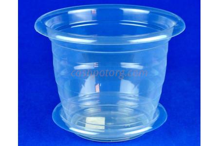 Горшок пластиковый для орхидей 2л (прозр) с под м1605